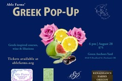 Selling: Able Farms Greek Pop Up Extravaganza